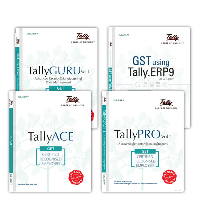 tally erp 9 expert course with gst pdf